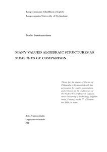Pdf algebraic structures